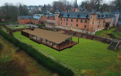 Demande d'un permis d'environnement pour des aménagements du Château de Mérode et ses abords – Analyse